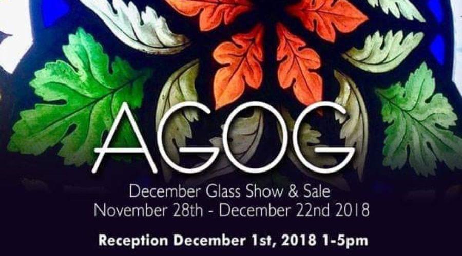 Dec 1 – AGOG Glass Show and Sale Reception